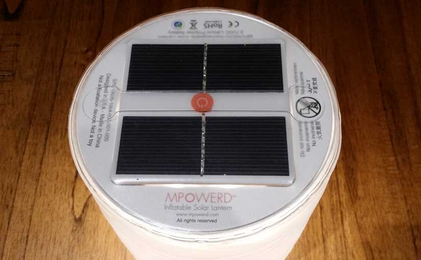 Luci Solar Light | Portable Solar Lamps by MPOWERD