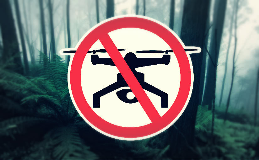 No Drones Parks Victoria Managed Land